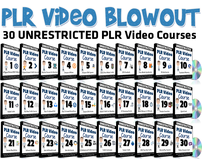PLR Video Blowout