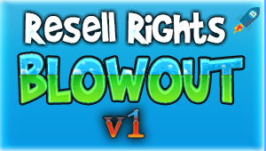 Resell Rights Blowout V1