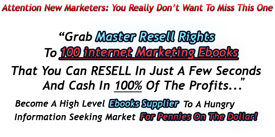 Ebook Resale Rights